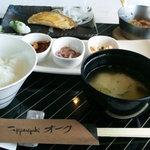 7775465 - 和の鉄板焼き朝食『焼きたて』