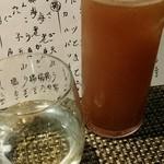 菜々海 - 明鏡止水と、ブルーベリー酒