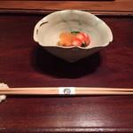 77753853 - ★9あん肝、車海老、菊菜