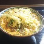 丸亀製麺 - 肉玉あんかけ(並)税込620円(2017.12.09)