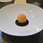アキヒサ ハンダ - 更別産ゆり根のドフィーヌ フォアグラ風味