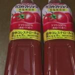 西友 - ドリンク写真:トマトジュース 168円+税×2