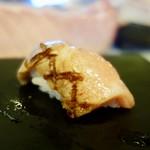 奴寿司 - [2017/11]おまかせ 十二貫(6000円)・寿司⑩ 五島産とろステーキの握り