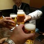 77761439 - 始めまして~ 乾杯!
