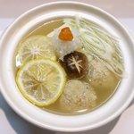 飲み食い処 池家 - 柚子塩湯豆腐団子