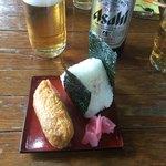 東海カントリークラブレストラン - 豚汁定食 鮭おにぎり 稲荷