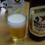 77762791 - サッポロラガー大瓶 630円