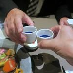 77762933 - 日本酒deカンパ~イ♪