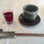 レストラン ル・クール神戸 - お目ざめのフルーツカクテルジュース
