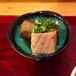 和料理 日和 - ごぼうとカジキマグロの煮物