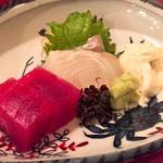 和料理 日和 - お刺身 マグロ、ヒラメ、湯葉