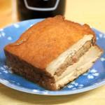 酒・立ち飲み 喜多屋 - アツアゲ肉詰¥170