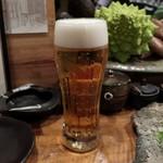 鶏屋 國型製作所 - 生ビール