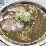 煮干鰮豚骨らーめん 嘉饌 - 【2017.11.29】煮干鰮豚骨らーめん¥750