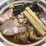 煮干鰮豚骨らーめん 嘉饌 - 【2017.11.29】正油らーめん¥600