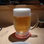 武 - 生ビール