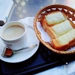 珈琲専科 貴族 - アメリカンコーヒーとチーズトースト
