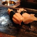 丸八寿司 - ミル貝 シャコシャコの食感と口いっぱいに広がる磯の香りが◎ 2017/12/02