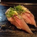 丸八寿司 - いわしorさんま 青魚ならではの香りが◎ネタも大きいっ!! 2017/12/02