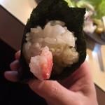 丸八寿司 - 間寛平巻き カニから、カニーの→カイ~の(笑) 2017/12/02