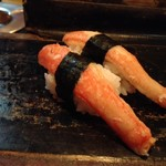 丸八寿司 - カニ身 肉厚でカニの旨みがしっかり◎ 2017/12/02