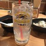 もつ焼 坊っちゃん - レモンサワー
