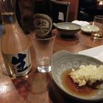 築地日本海 - 金陵 冷酒