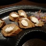 DINING 彩 - いぶりがっこ&クリームチーズ