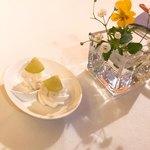 ザ・東京フルーツ パーラー - サービスのお菓子