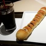 サンマルクカフェ - やみつきドッグ:250円税別 (2017/11)