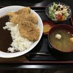 77771261 - ソースかつ丼カレー