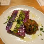 ブリューパブ テタールヴァレ - 旬の野菜のテリーヌ