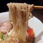 ソラノイロ Japanese soup noodle free style - 塩旨味出汁ソバ(900円)+味玉(クーポン)