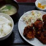 ふじ食堂 - 料理写真:からあげ定食