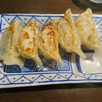 麺屋 こやす - 2017年12月 焼き餃子 300円