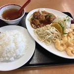 豚々亭 - サービス定食840円(税込)