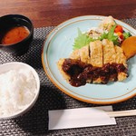 ちかさんの手料理 - 料理写真:ちかさんの美味しいみそカツデミグラスソース風 1,490円