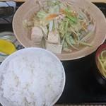美ちゅら - 野菜チャンプルー定食