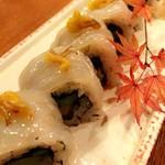 魚道 - 真鯛の巻き寿司