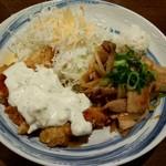 ずんべら屋 - チキン南蛮しょうが焼き定食