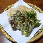 竹の子家 - 山菜と筍の天ぷら!