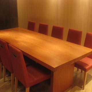 完全個室や半個室、ご接待等の会食にご活用下さい