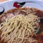 駅ナカ食堂 なの花 - 麺アップ