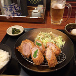 平田牧場 - 春のしゃぶかつ膳 2,000円