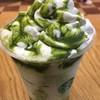 スターバックス・コーヒー - ドリンク写真:抹茶ホワイトマーブルフラペチーノ540円