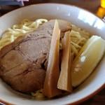 中華そば GO.TO.KU 仁 - 【2017.12.10(日)】醤油つけそば(大盛・255g)850円の麺