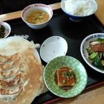 李さんの店 - 日替り定食 680円(これに杏仁豆腐orコーヒー付)