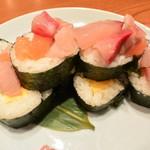 Hananomai - 彩り海鮮のっけ寿司 760円