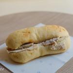 ル・プチメック - 自家製ローストポークとクリームチーズのサンドイッチ(360円)★4.0