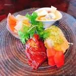 サクライ - 料理写真:本日の焼き物入り冷菜盛り合わせ